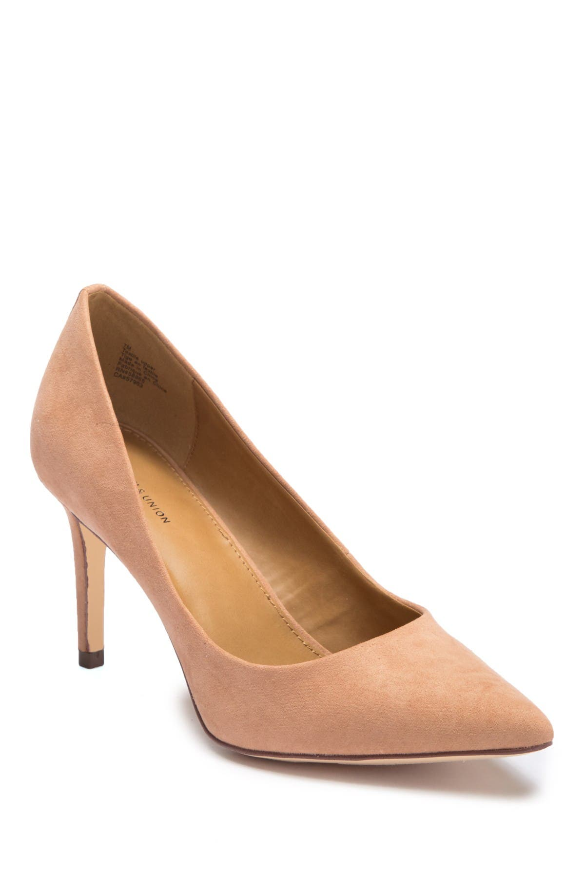 Image of 14th & Union Maty Pointed Toe Pump - Wide Width Available
