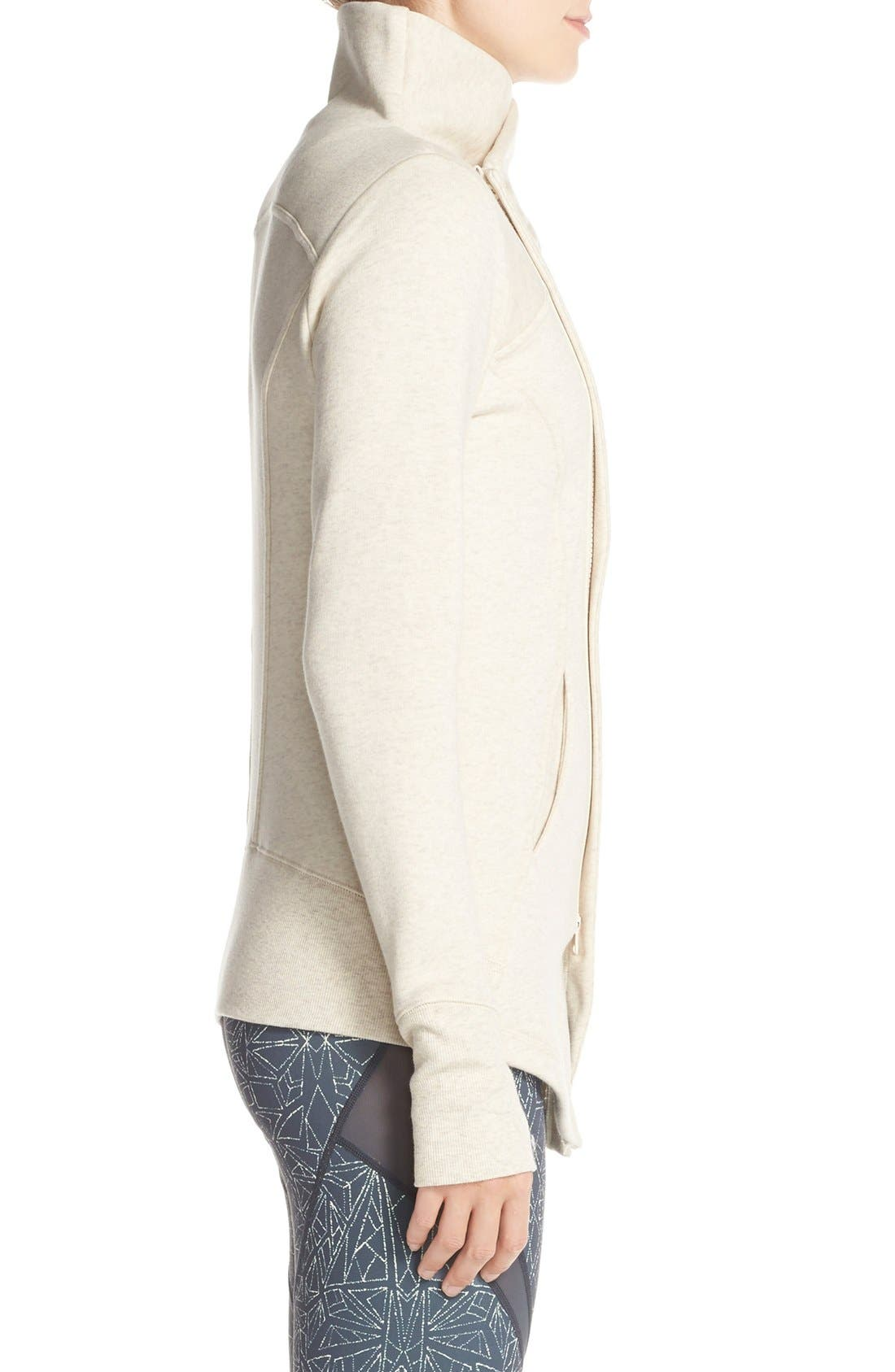 ,                             'Snowdrift' Asymmetrical Zip Sweatshirt,                             Alternate thumbnail 18, color,                             250