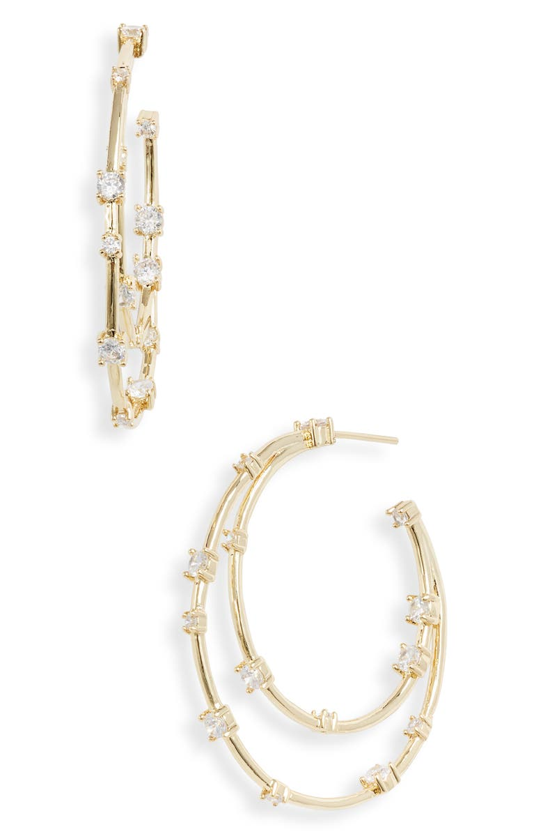 Melinda Maria Ryleigh Hoop Earrings