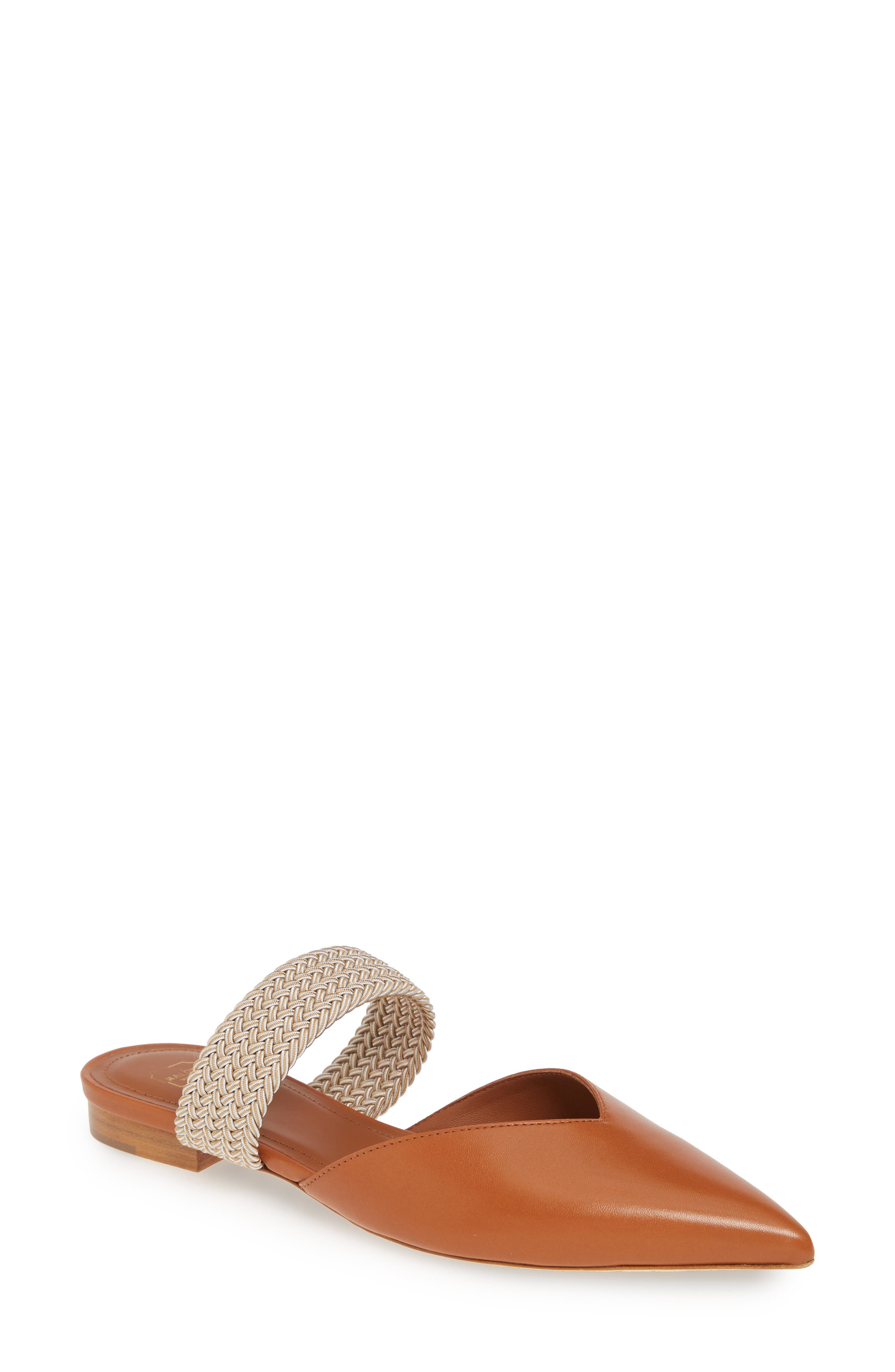 Malone Souliers Maisie Banded Mule - Brown