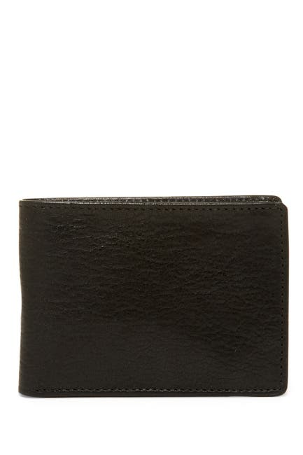 Image of Buxton RFID Slimfold Leather Wallet