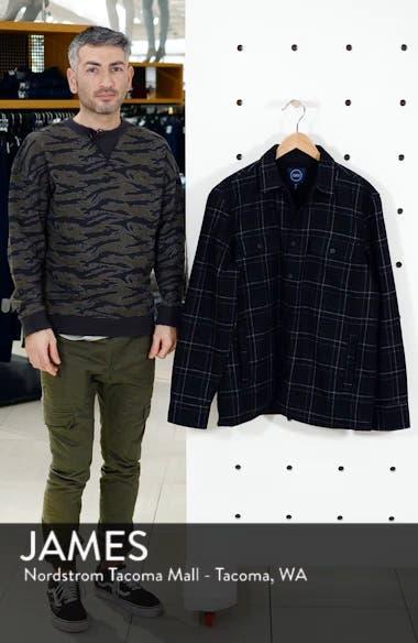 Plaid Faux Fur Lined Shirt Jacket, sales video thumbnail