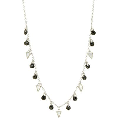 Freida Rothman Industrial Finish Charm Necklace