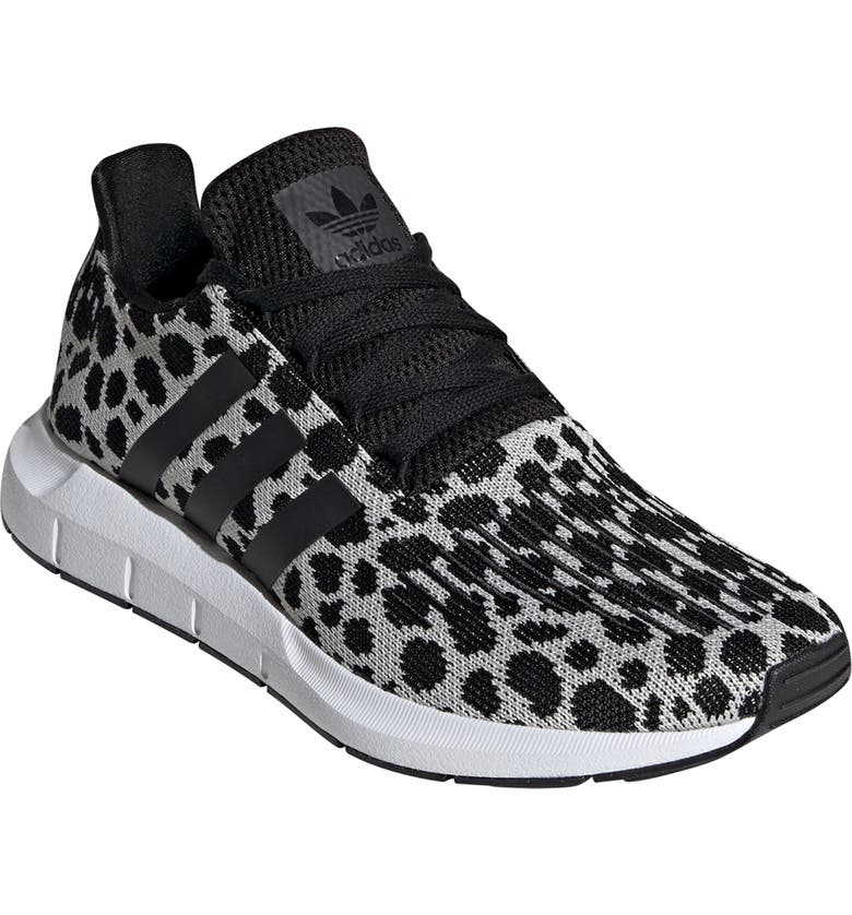 ADIDAS Swift Run Sneaker, Main, color, RAW WHITE/ CORE BLACK/ CARBON