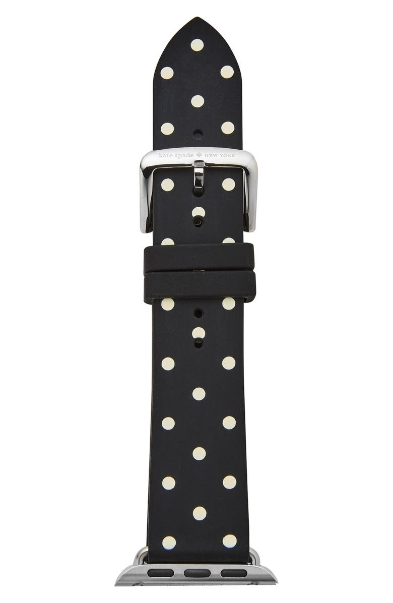 KATE SPADE NEW YORK Apple Watch<sup>®</sup> strap, 42mm, Main, color, 001
