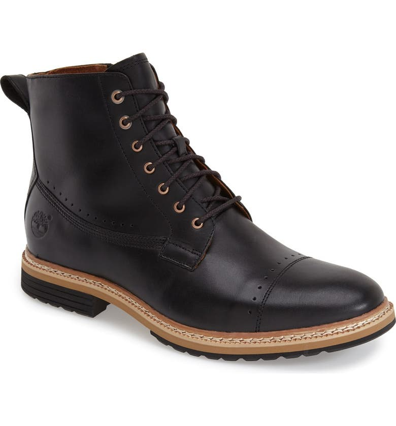 TIMBERLAND 'Westhaven' Cap Toe Boot, Main, color, 001