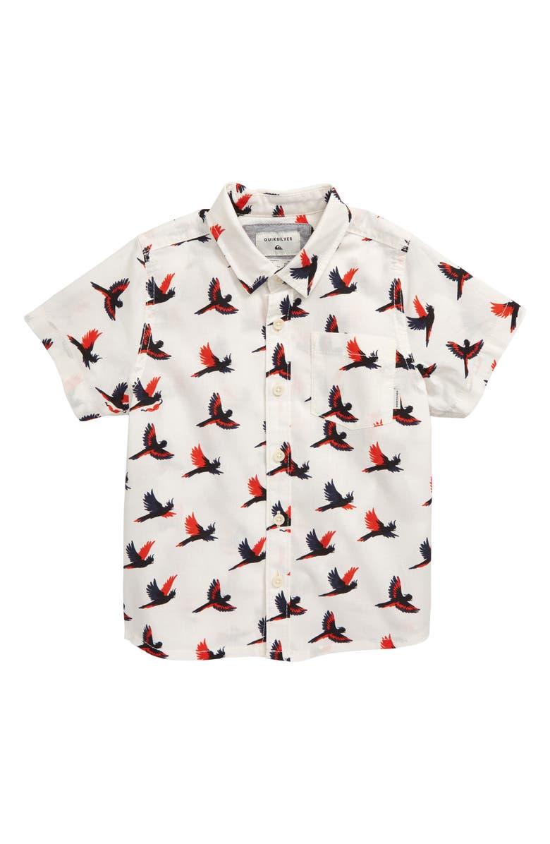 QUIKSILVER Cockatoo Button-Up Shirt, Main, color, 650