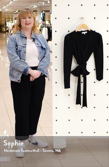 Pippa Puff Sleeve Wrap Top, sales video thumbnail