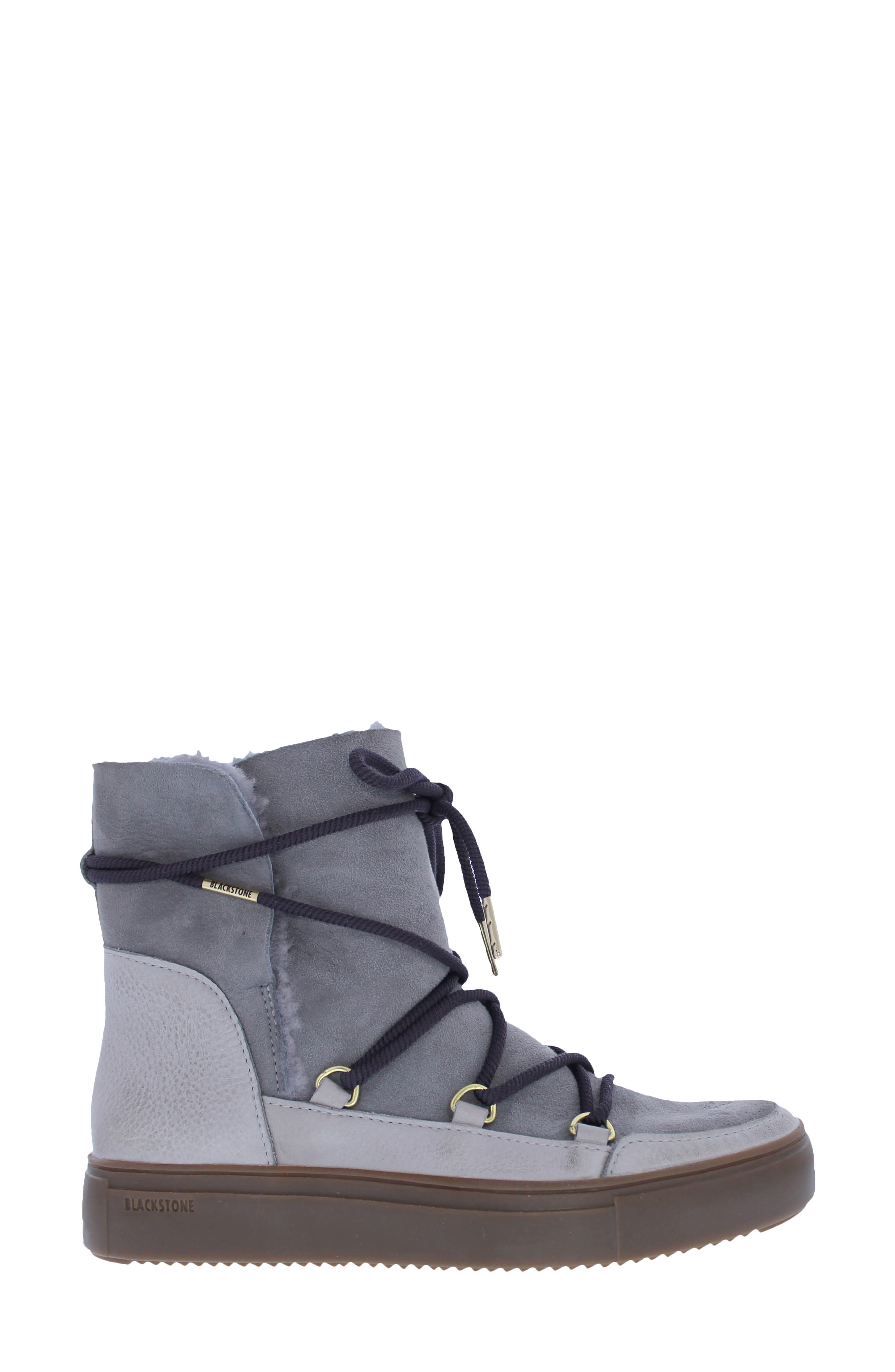 Ul87 Genuine Shearling Lined Boot