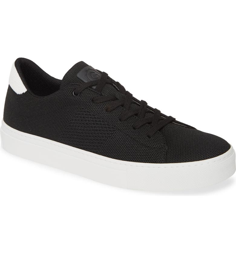 GREATS Royale Knit Low Top Sneaker, Main, color, BLACK/ WHITE