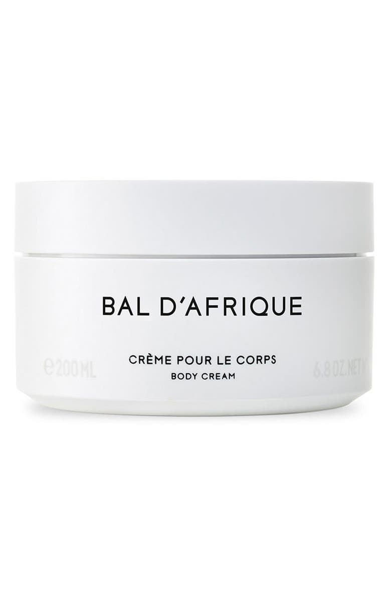 BYREDO Bal d'Afrique Body Cream, Main, color, NO COLOR