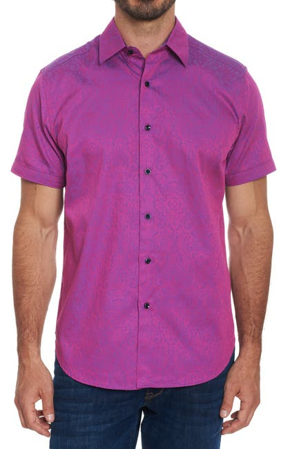 Image of Robert Graham Equinox Short Sleeve Classic Fit Shirt