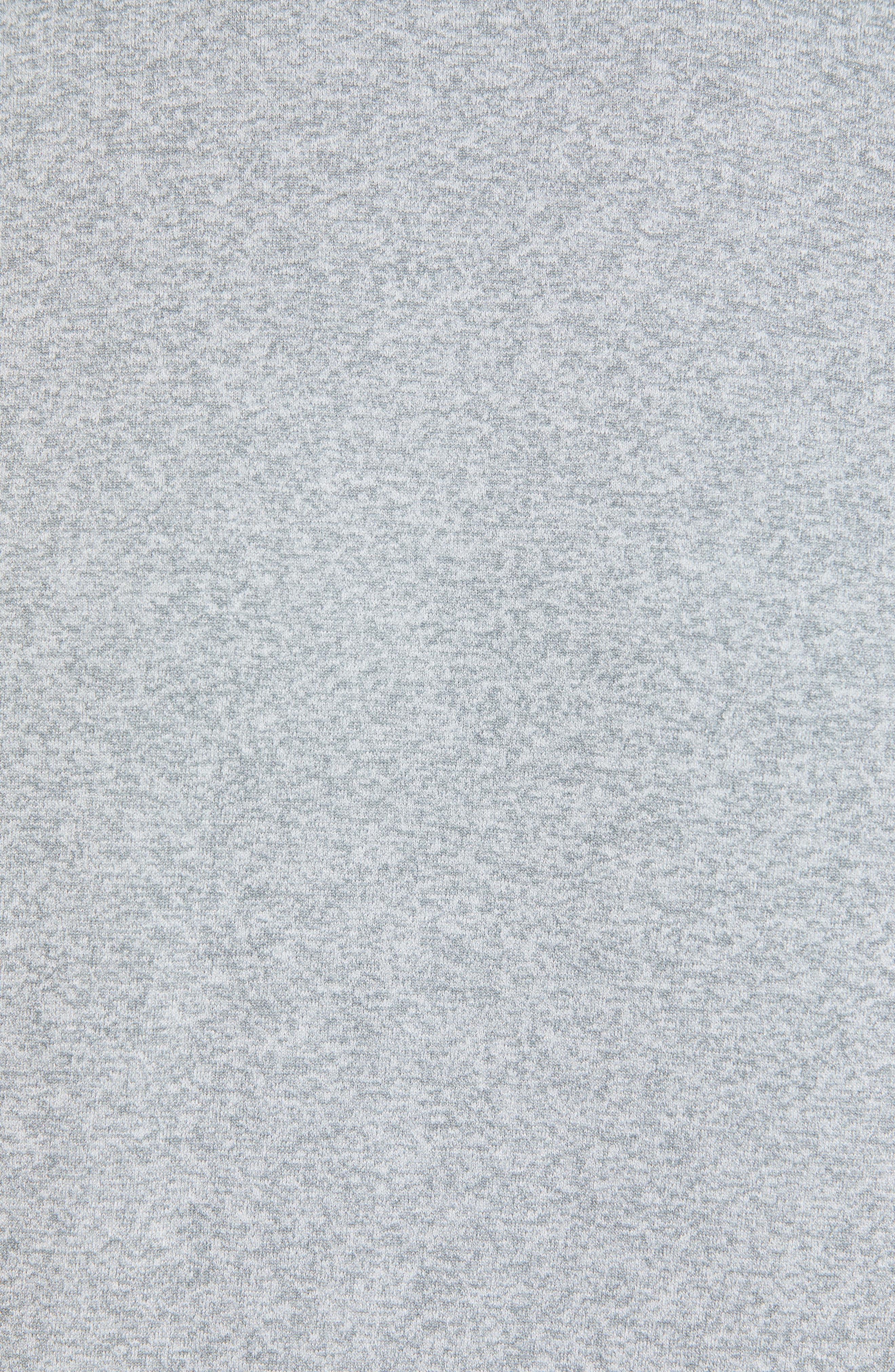 ,                             Seamless Raglan T-Shirt,                             Alternate thumbnail 6, color,                             GREY MONUMENT MELANGE