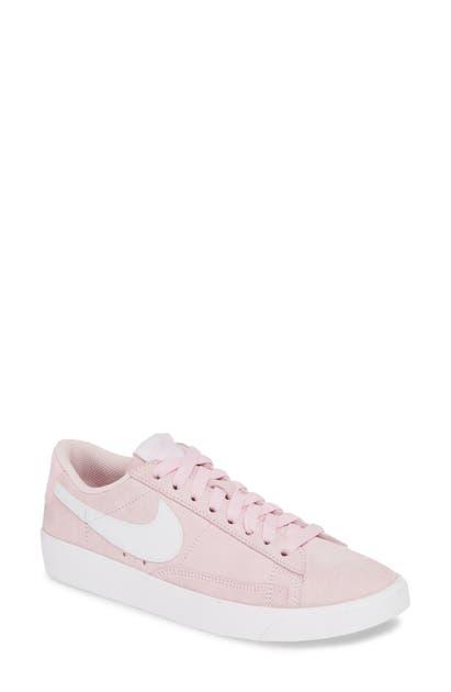 best service cafba d14be Blazer Low Sneaker in Pink Foam / White/ White