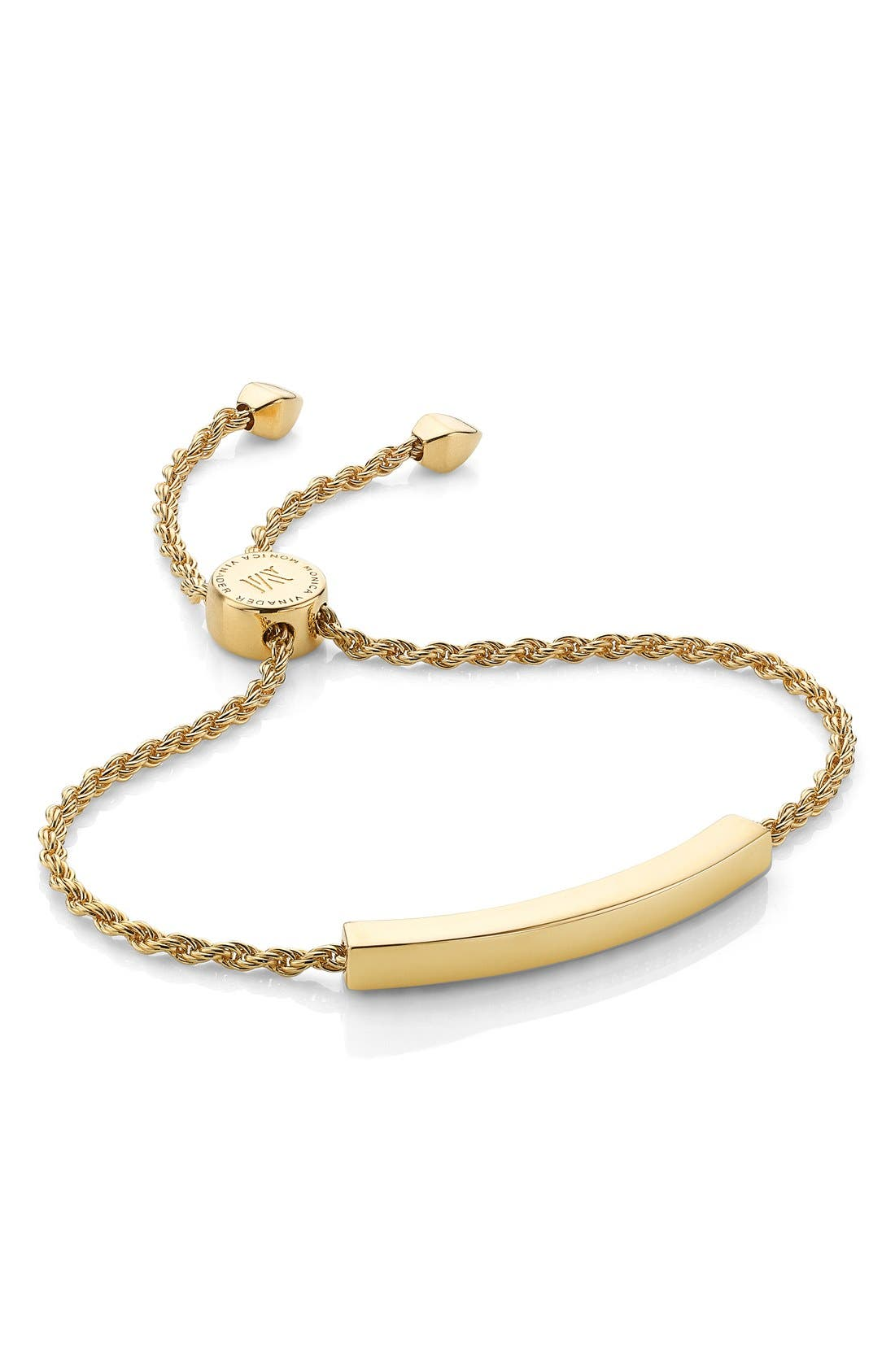 Personalized gifts linear engravable chain bracelet