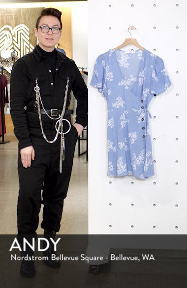 Button Front Wrap Dress, sales video thumbnail