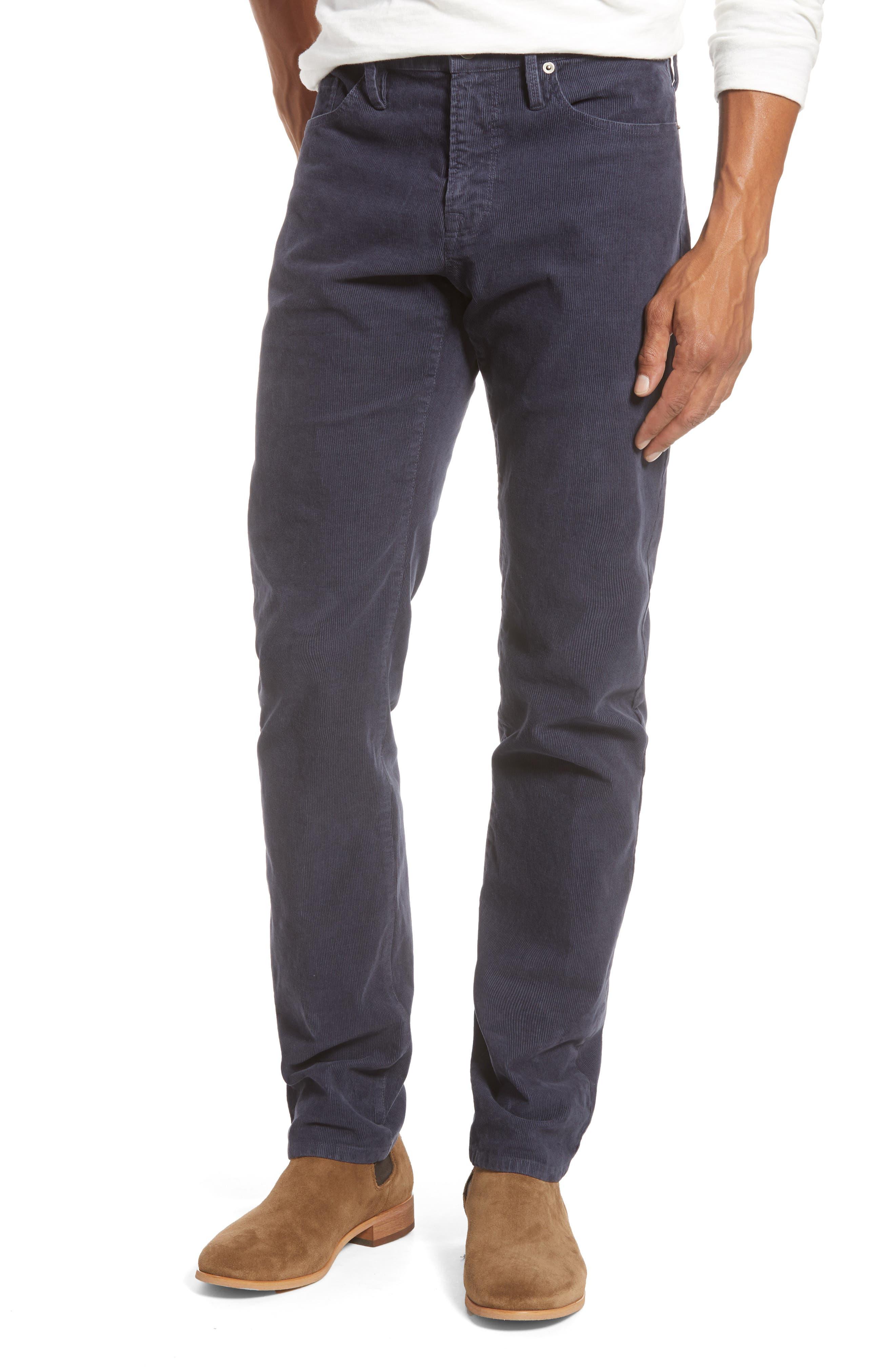 Image of FRAME L'Homme Slim Fit Five Pocket Corduroy Pants