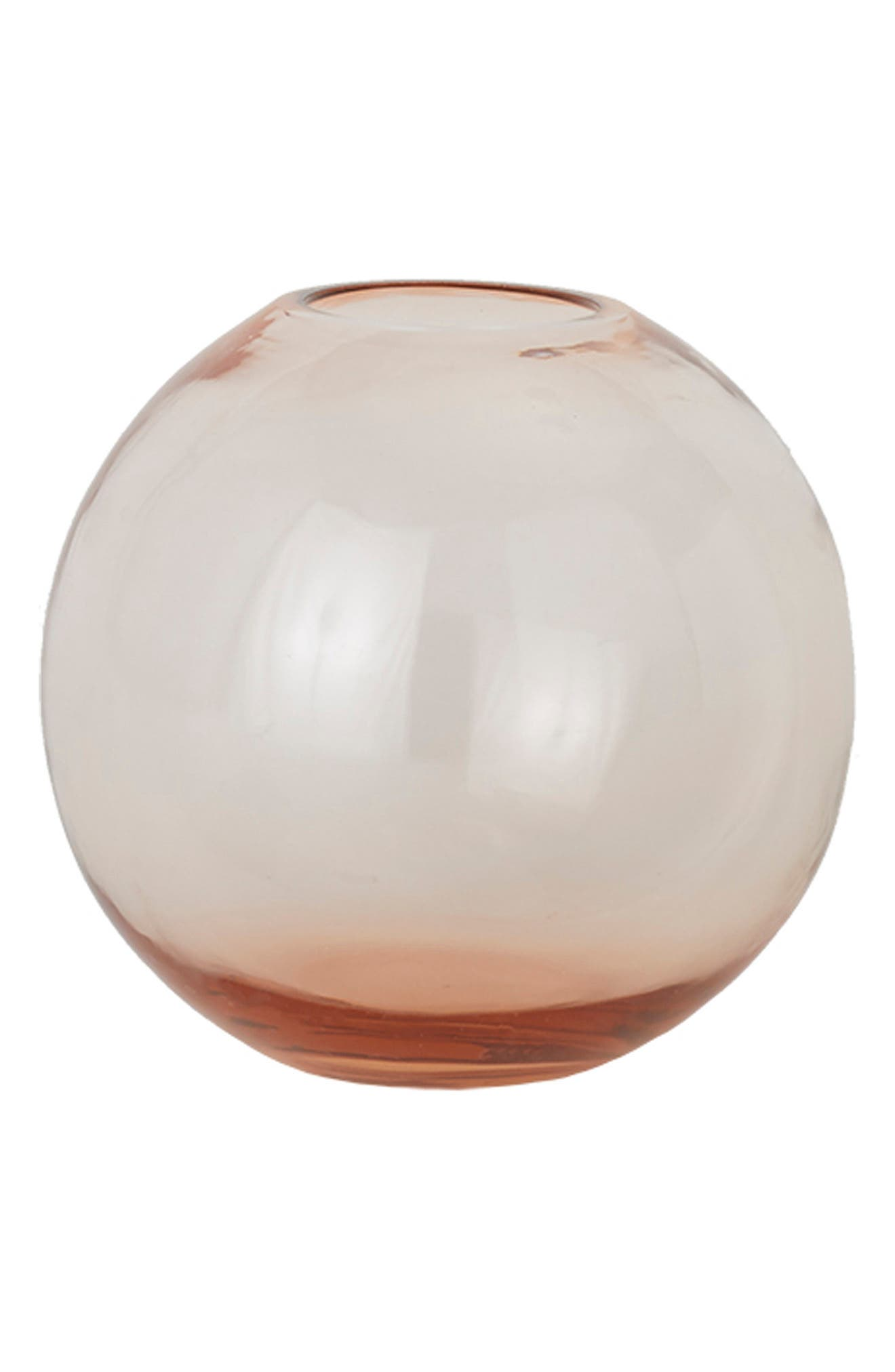 A handblown sphere vase in clear or tinted glass is a stunning way to display your favorite buds. Style Name: Hawkins New York Aurora Sphere Vase. Style Number: 6100191. Available in stores.