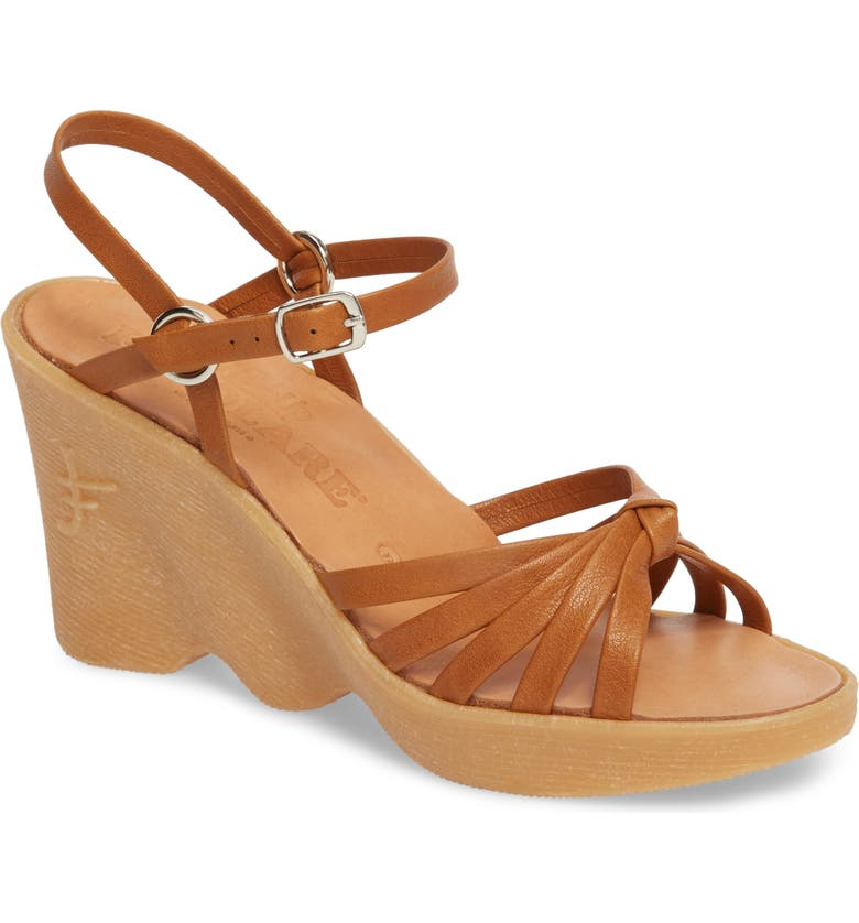 FAMOLARE Knotty Monkey Wedge Sandal, Main, color, 230