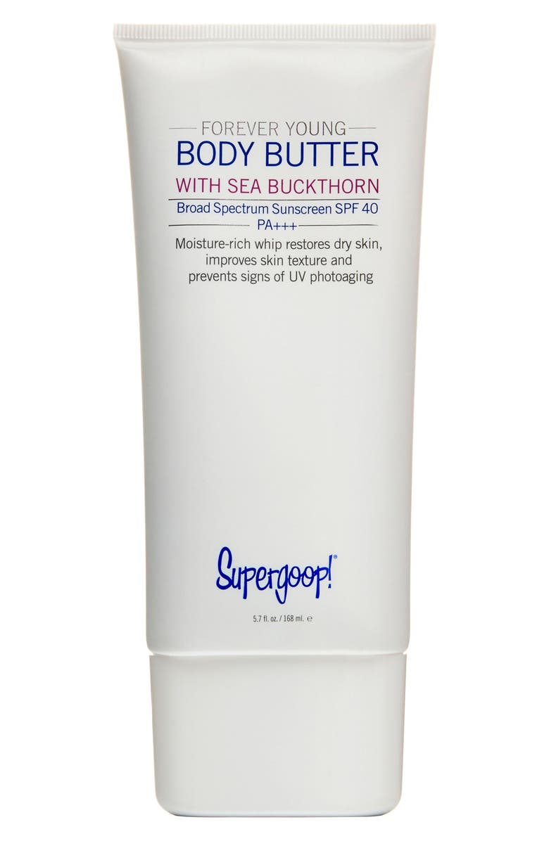 SUPERGOOP!<SUP>®</SUP> Supergoop! Forever Young Body Butter SPF 40, Main, color, 000