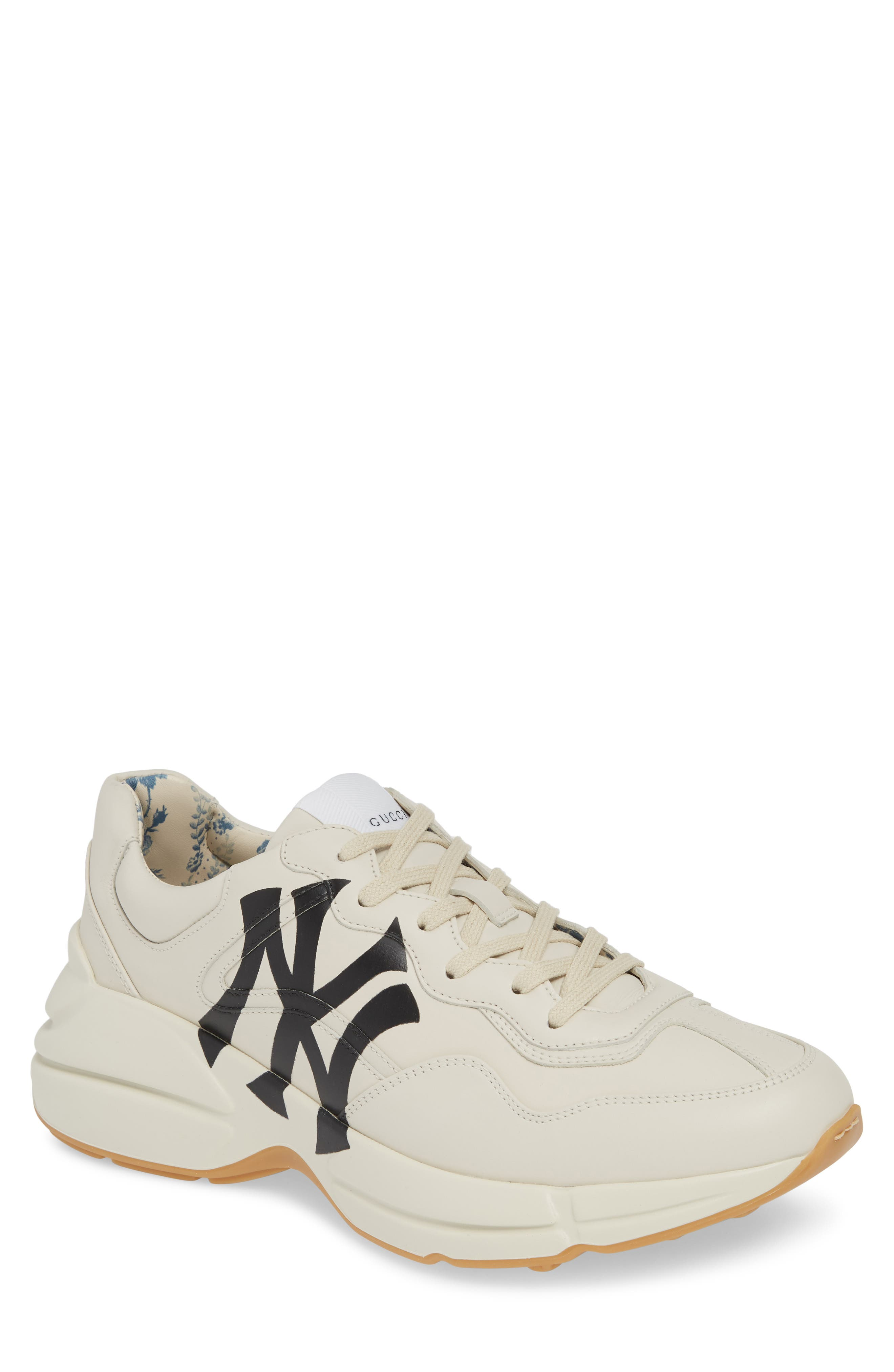 Rhyton Sneaker, Main, color, MYSTIC WHITE/ WHITE
