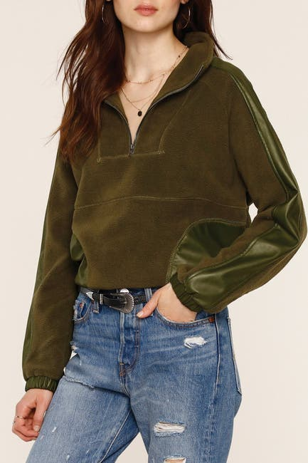 Image of Heartloom Kay Terry Paneled Sweatshirt