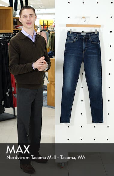 The Donny High Waist Ankle Skinny Jeans, sales video thumbnail