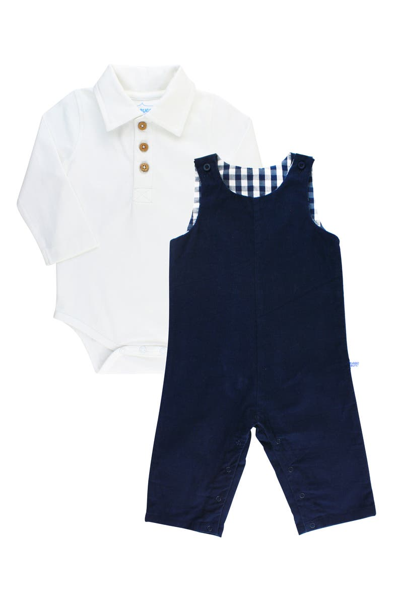 RUGGEDBUTTS Mulb Bodysuit & Overalls Set, Main, color, 410