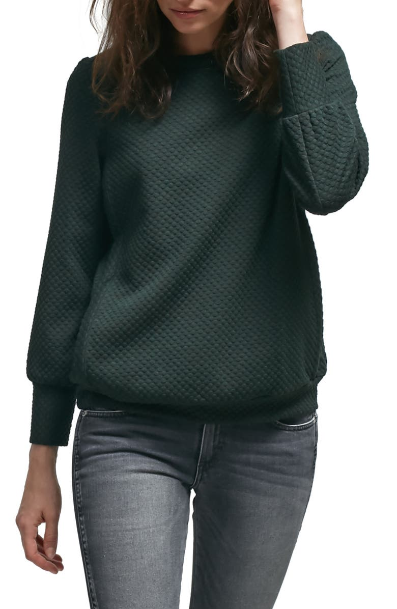ALLETTE Esther Nursing Sweater, Main, color, 300