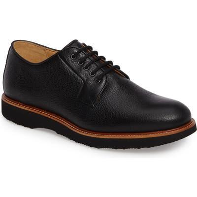 Samuel Hubbard Highlander Plain Toe Derby, Black