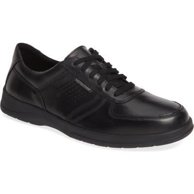 Mephisto Matteo Walking Shoe- Black