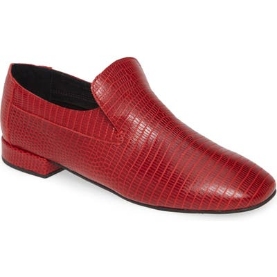 Jeffrey Campbell Priestly Loafer- Red