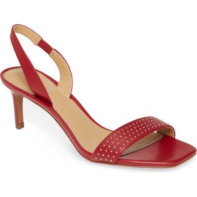 Michael Michael Kors Mila Sandal- Red