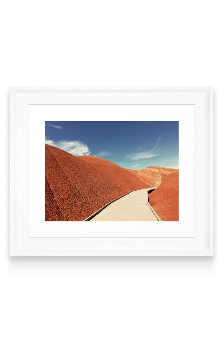 Deny Designs Painted Hills Art Print