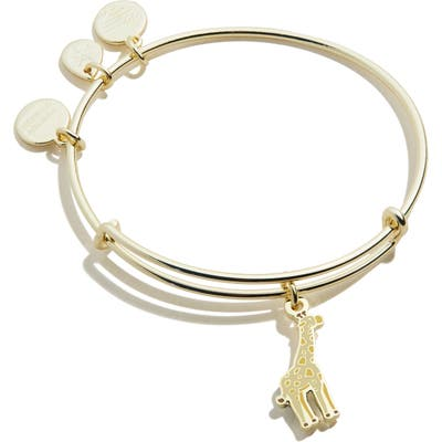 Alex And Ani Color Infusion Giraffe Expandable Wire Bangle