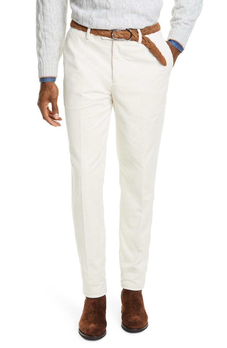 Sea Island Corduroy Trousers by Brunello Cucinelli