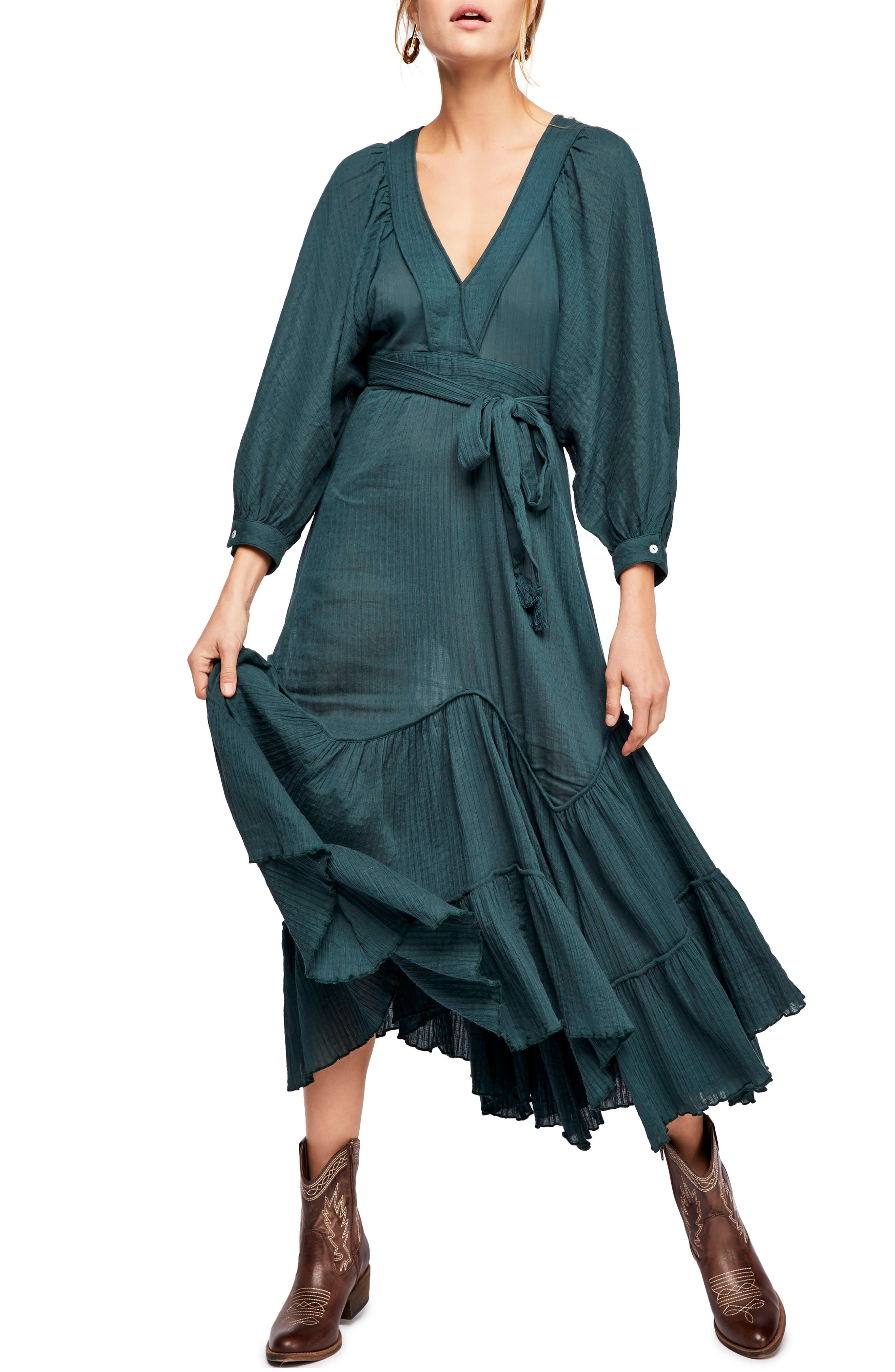 Endless Summer By Free People I Need To Know Maxi Dress, Green