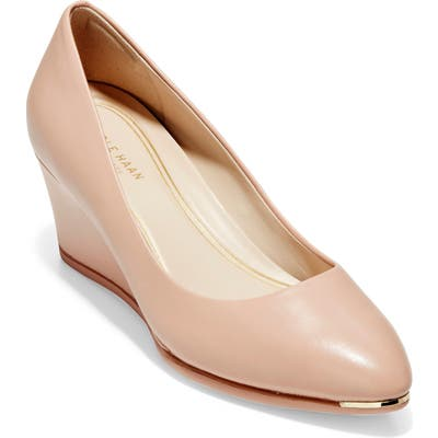 Cole Haan Grand Ambition Wedge Pump, Pink
