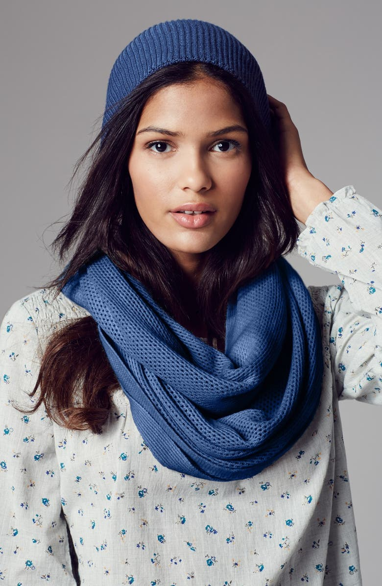 COLLECTION XIIX Knit Infinity Scarf, Main, color, 305