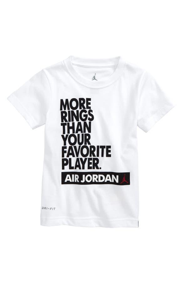 Jordan More Your Shirttoddler Than Rings Favorite T Player Dri Fit fI6mgyYb7v