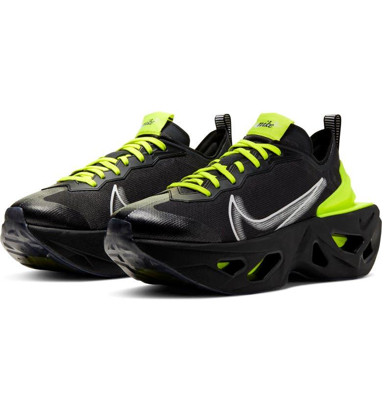 NIKE Zoom X Vista Grind Sneaker, Main, color, OFF NOIR/ LEMON VENOM
