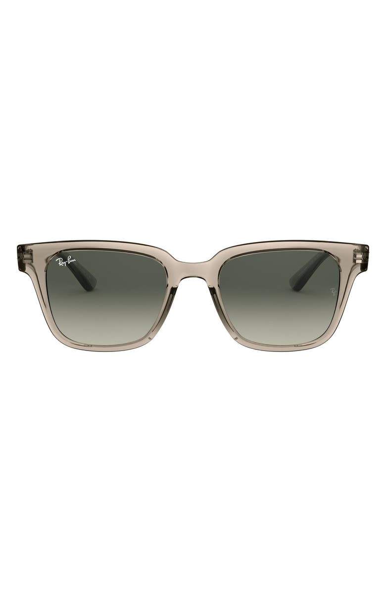 RAY-BAN 51mm Classic Wayfarer Sunglasses, Main, color, GREY/ GREY GRADIENT DARK GREY