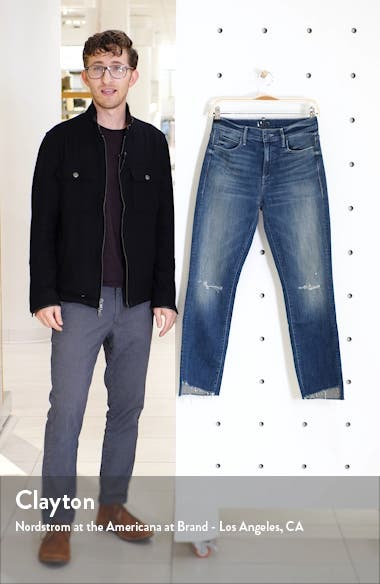 The Rascal Ripped High Waist Step Hem Ankle Skinny Jeans, sales video thumbnail