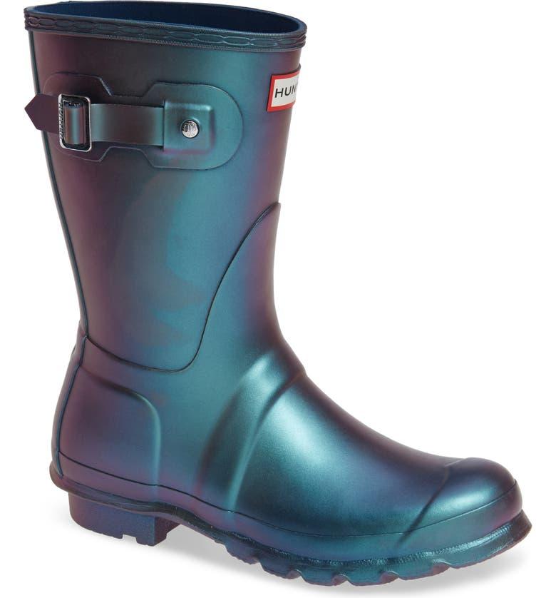 a17e6ef60 Hunter Original Short Nebula Rain Boot (Women) | Nordstrom