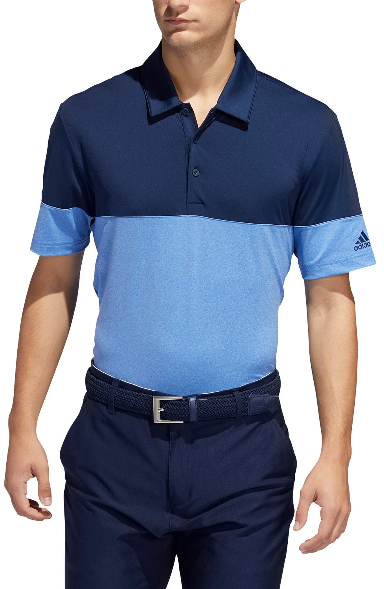 Image of adidas Ultimate 2.0 All Day Novelty Golf Polo