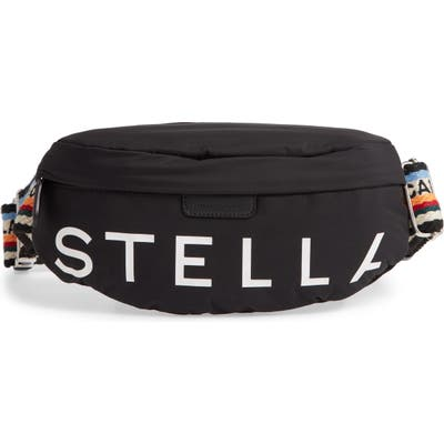 Stella Mccartney Go Eco Padded Belt Bag - Black