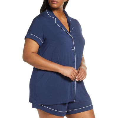 Plus Size Nordstrom Lingerie Moonlight Short Pajamas