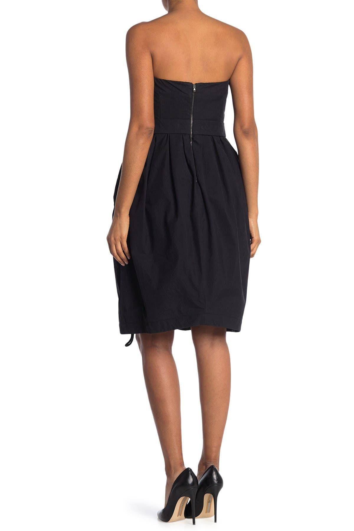 Image of MOSCHINO Open Zipper Dress