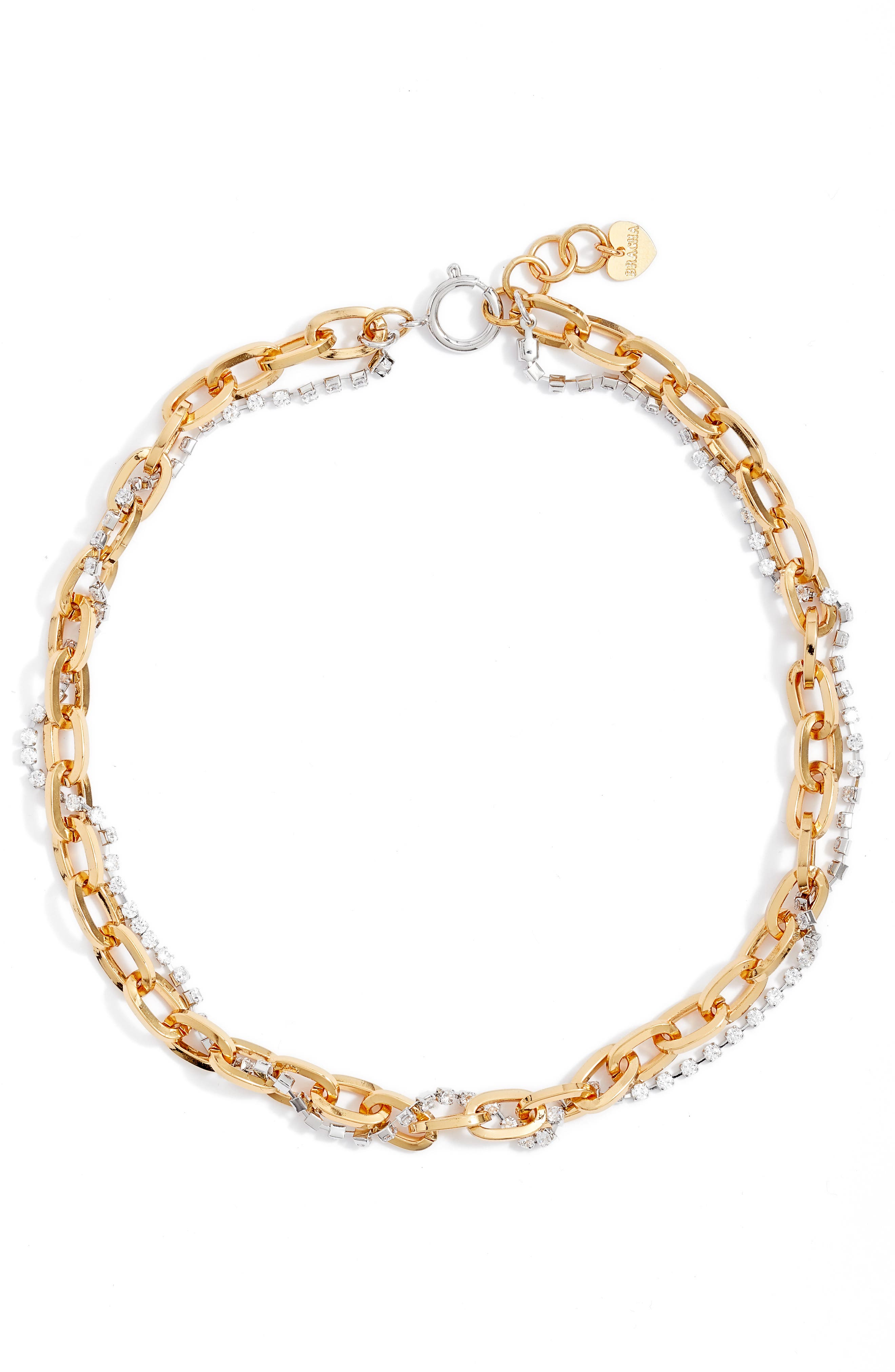 Bracha Piper Layered Necklace in Gold at Nordstrom