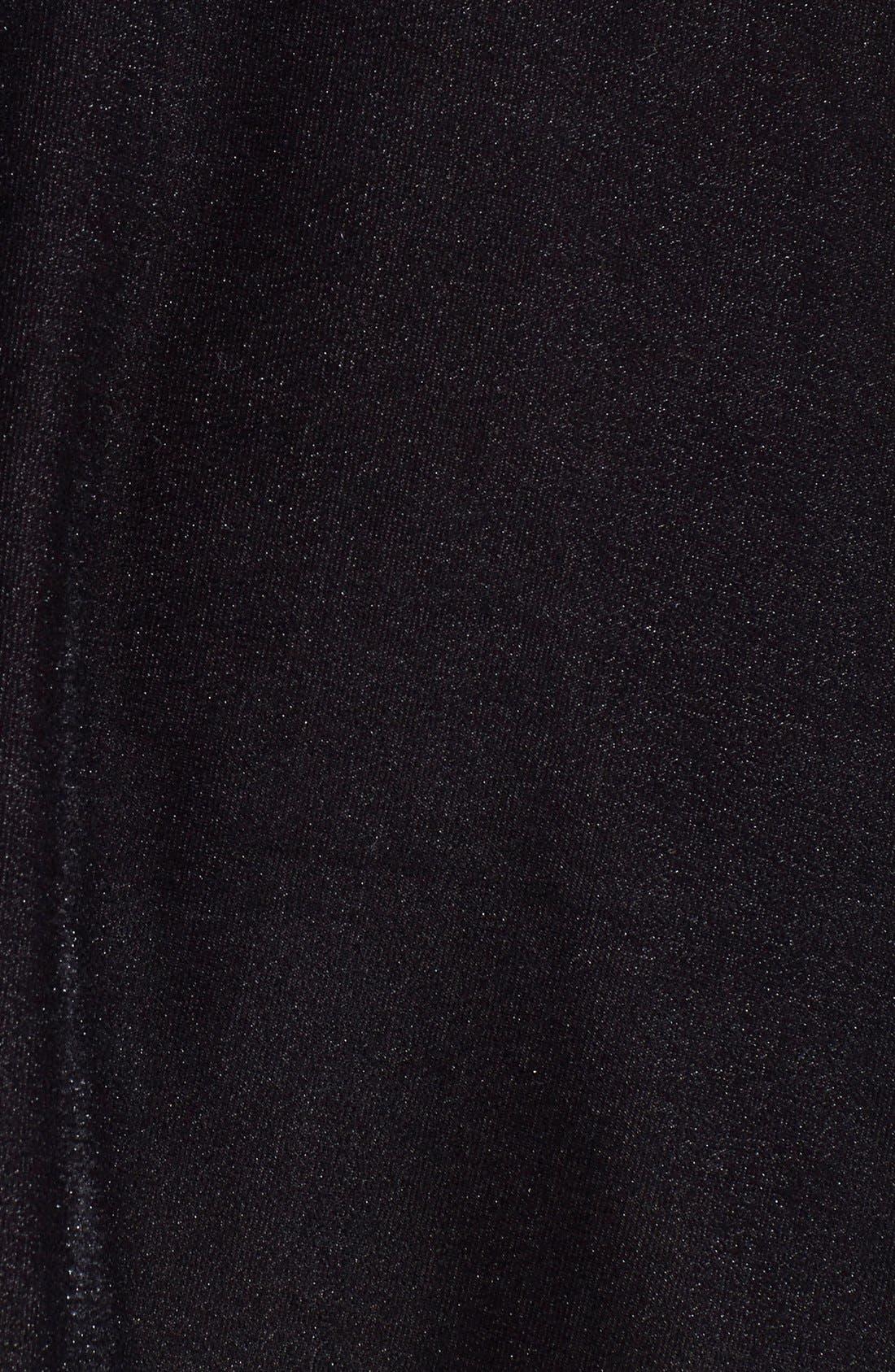 ,                             Velour Skater Skirt,                             Alternate thumbnail 3, color,                             001